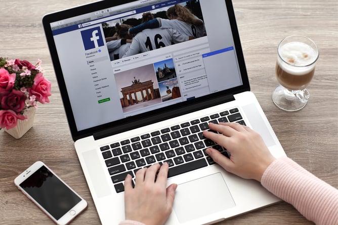 Viewing Facebook