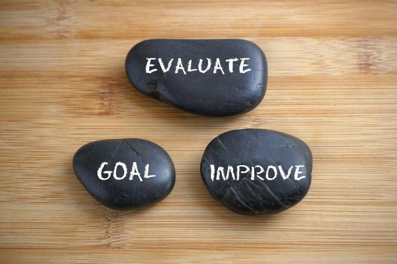 evaluate goals improve