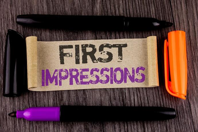 first impressions 3
