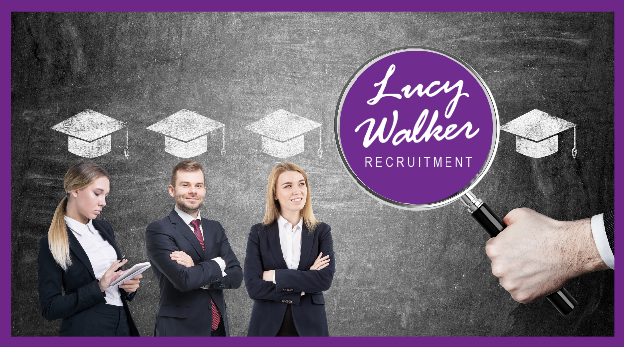 Graduate meets Recruitment... Embarking on a new career!