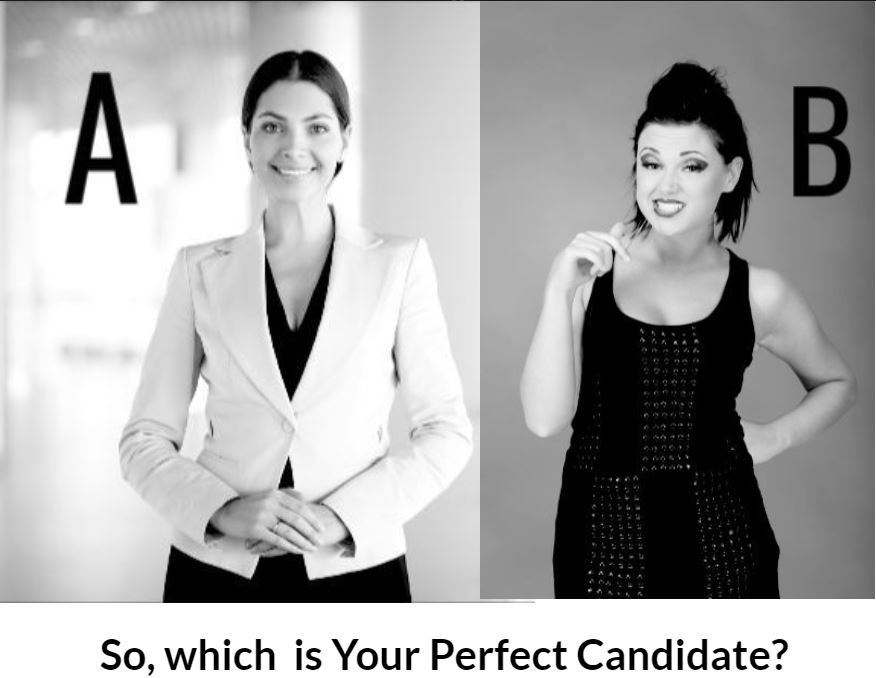 Perfect Candidate Aor B WOMEN