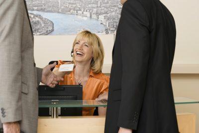 Receptionist skills